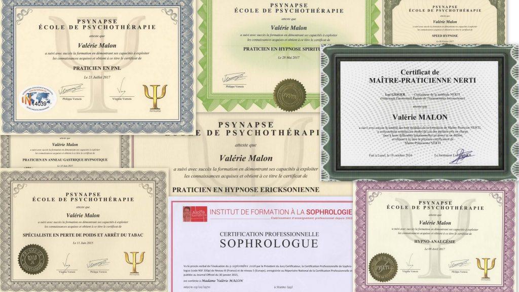 Valérie MALON - Thérapies brèves : Sophrologue - Hypnose - Nerti
